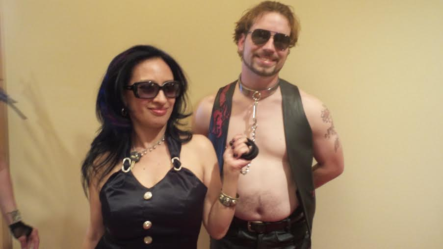 Me and My slave for DomCon La 2015