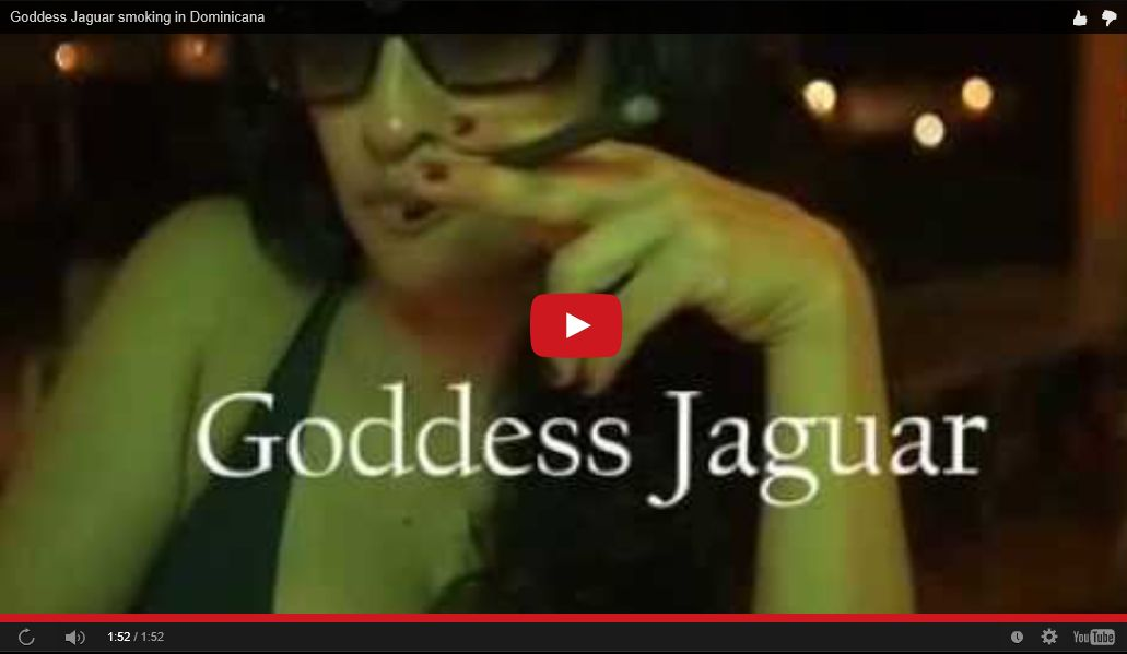 Goddess Jaguar Heavenly Latex Teaser
